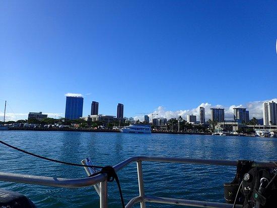 Rainbow Scuba Hawaii: Honolulu harbor
