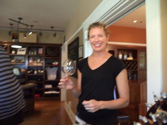 Santa Maria, CA: Jackie knows her wines, loves her work.
