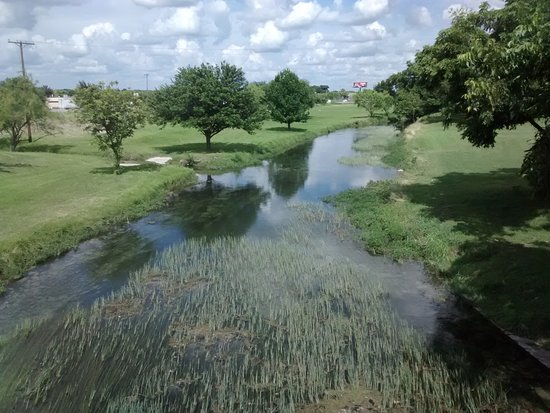 Brackettville, TX: Las Moras Creek