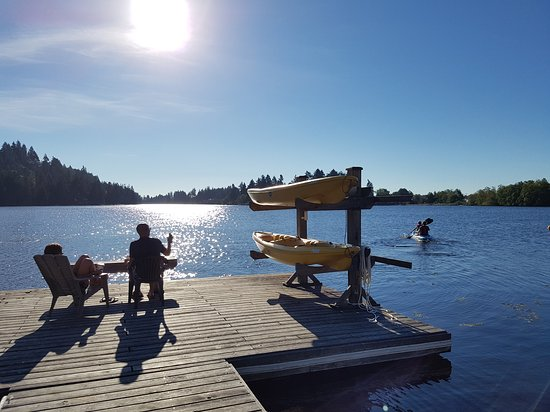 The Inn on Long Lake: Life on the dock