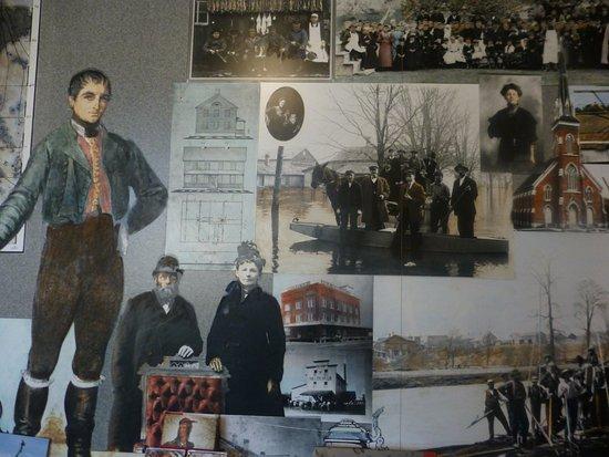 Frankenmuth Historical Museum: 館內介紹德國人道次傳教 開拓 建立小鎮的歷程