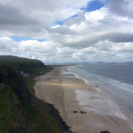 Castlerock, UK: View from one of the windows