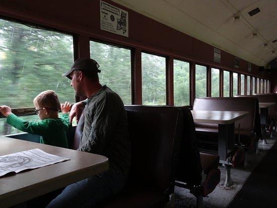 Osceola, WI: train ride