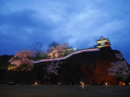 Usuki Castle Ruin: 薄明の臼杵城