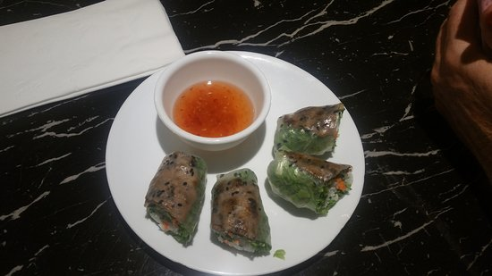 Bamboo Cafe: BBQ Beef Rolls
