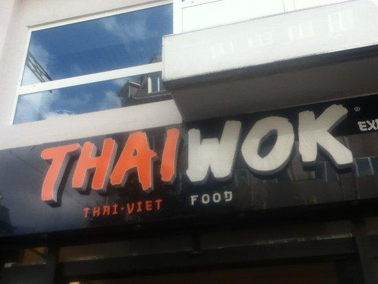 Thai Wok: 店頭付近