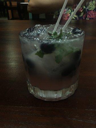 Parrita, كوستاريكا: Blueberry Mojito