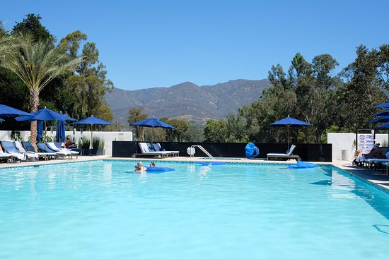 Ojai, Californien: The adult-only (16+) Indigo Pool