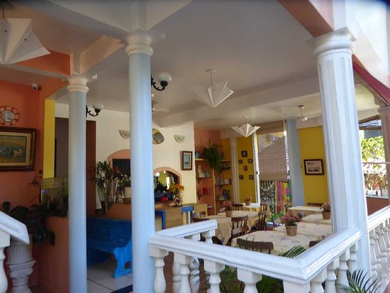 Pousada Casablanca: la salle du petit dejeuner