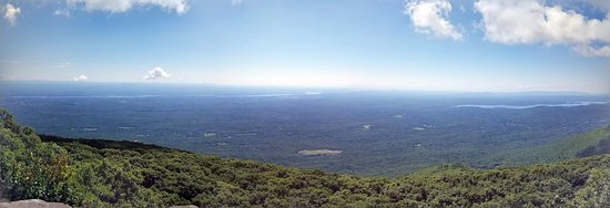Woodstock, estado de Nueva York: Panoramic view at top.