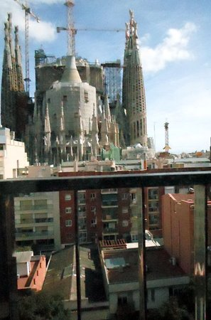 View Of La Sagrada Familia From Our Balcony Picture Of Ayre