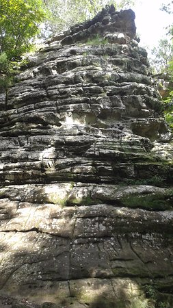 Makanda, IL: Giant City Rock formations