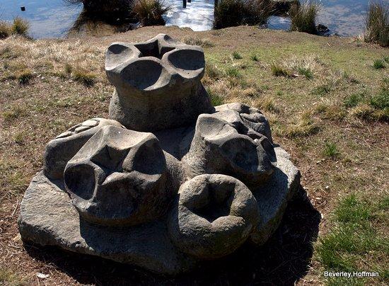 Wentworth Falls, Avustralya: Unusual sculptures