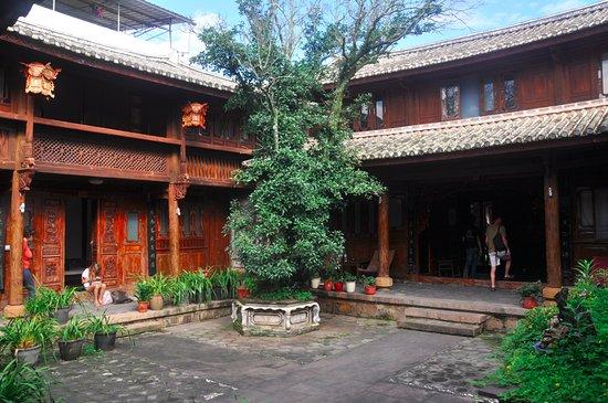 Eaglewood Resort Dali: vue d'une des cours intérieures