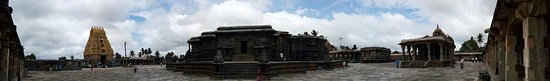 Chennakesava Temple: Panorama shot of the main temple structure