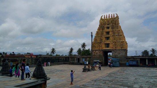 Chennakesava Temple: Main gopuram - entrance