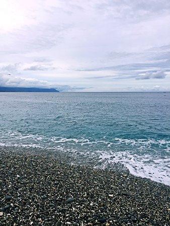 Hualien, Taiwán: 七星潭的海景