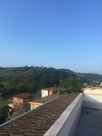 Hotel Boomerang: Panorama e bagno