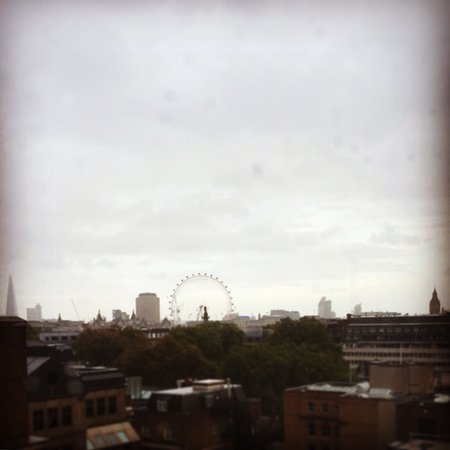 The Cavendish London: View from our 8th floor room