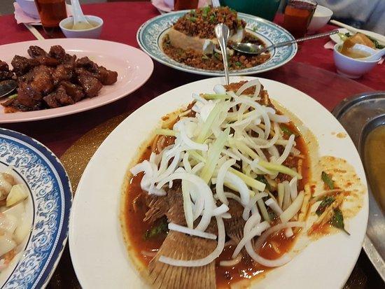 Thai Style Tilapia fish - Picture of Kok Thai Restaurant, Ipoh - TripAdvisor