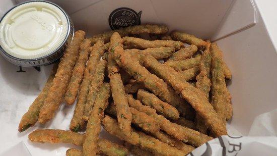 Mustang, Οκλαχόμα: Fried green beans
