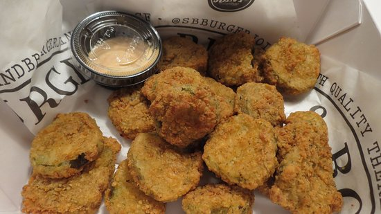 Mustang, OK: Fried pickles