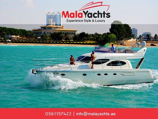 Luxury Yacht Dubai Picture Of Mala Yachts Dubai Dubai Tripadvisor