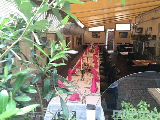 Bocholt, Allemagne : Restaurant Mythos