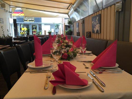 Bocholt, Germania: Restaurant Mythos