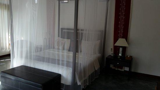 Villa Sancita: Beds upstairs both have nets
