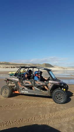 Ahipara, New Zealand: youth programme, thanks tony and TIMEOUT TOURS