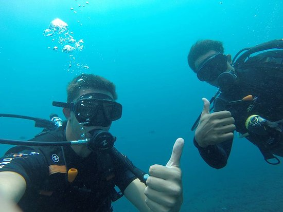 Tulamben, Indonesia: With Wayan our diver