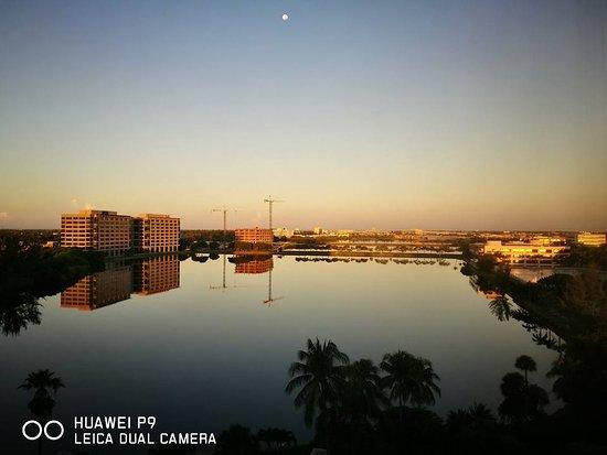 PULLMAN Miami Airport hotel: Lagoon View