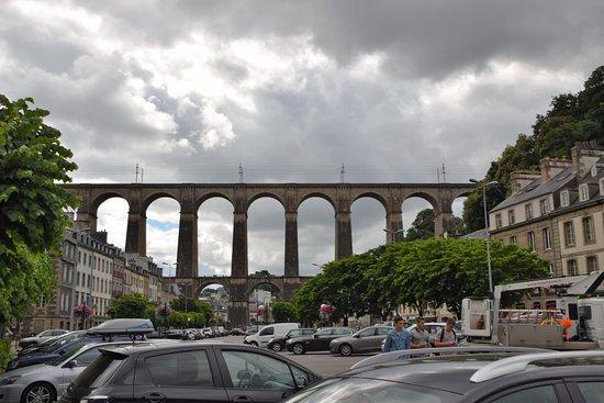 Morlaix, Francia: Vue du syndicat d'initiative