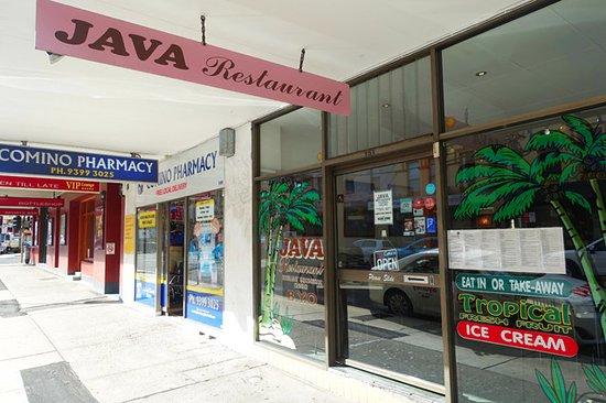 Java : Shop front