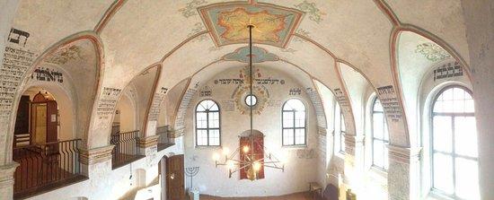 Moravia, สาธารณรัฐเช็ก: Krásný interiér synagogy