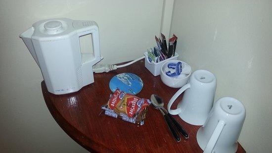 Drogheda, Ierland: dirty coffee maker