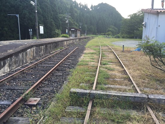 Mimasaka Kawai Station Railway Turntable