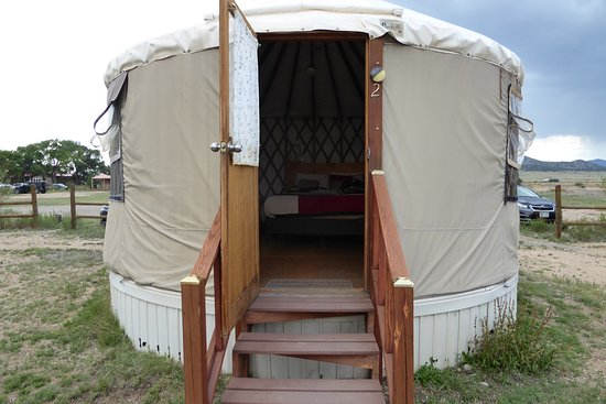 Moffat, CO: Yurt #2