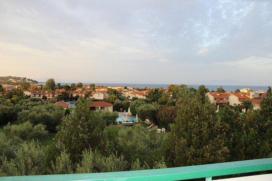 Julia Studios: Вид с балкона.