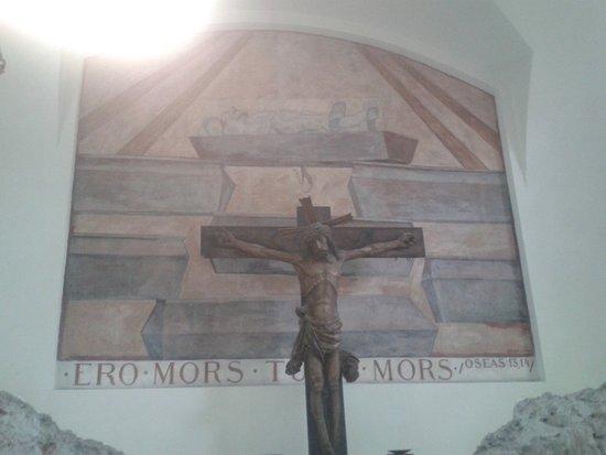 St. Andra (Church of St. Andrew) : Egger-Lienz: Die Auferstehung