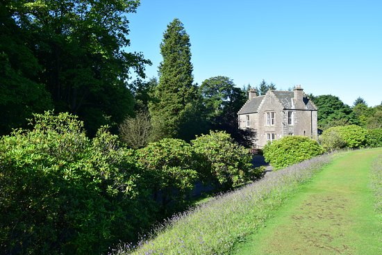 Forfar, UK: The Ranger lodge at Crombie