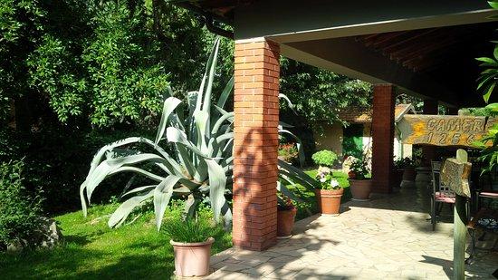 Agriturismo Il Capannone: portico