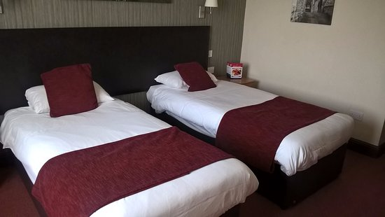 North Hykeham, UK: Twin room