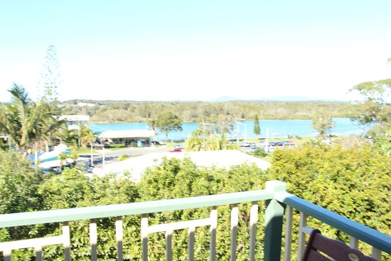 Nambucca Heads, Avustralya: View from our room