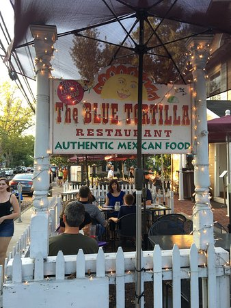 The Blue Tortilla: Great location