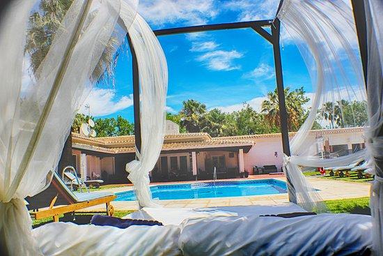 Malaga Hotel Picasso: Malaga Picasso Piscina Jardin