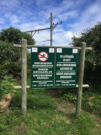 Muizenberg, Sudáfrica: Trails