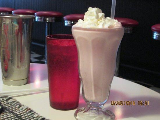 Kutztown, Pensilvania: Yummy shake