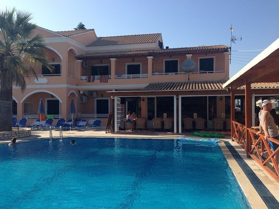 Lagoon Apartments Sidari Corfu The Hotel And